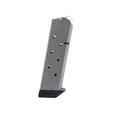Chip McCormick Shooting Star Classic Magazine with Pad - .45, Stainless Steel , 8 rds.