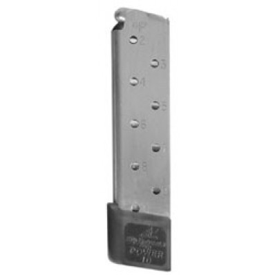 Chip McCormick Power Magazine - 1911 .45 ACP, Stainless Steel, 10 rds.