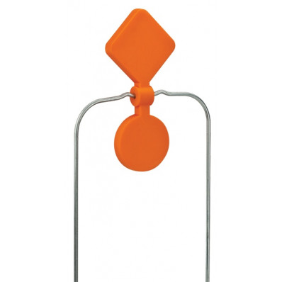 Champion DuraSeal Double Spinner Target - Orange