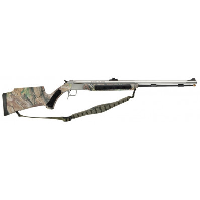 CVA Accura V2 209 Magnum Break-Action Muzzleloader - .50 Cal - Stainless Steel/Realtree APG