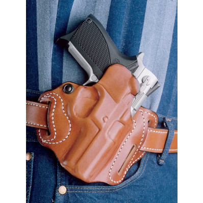 DeSantis Walther PPQ Speed Scabbard-Style 002, Right Hand, Tan, 3 Slot
