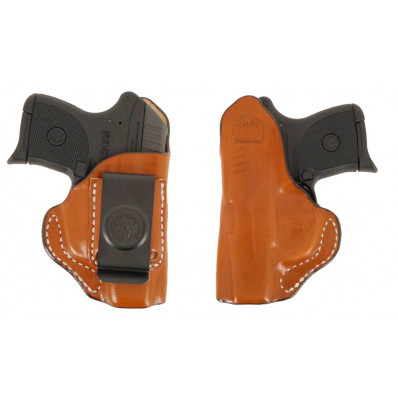 "DeSantis S&W J Frame 2"" Summer Heat IWB Holster-Style 045, Right Hand, Tan"