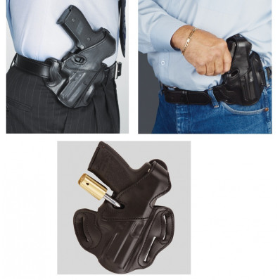 DeSantis Sig P250 Sub Compact F.F.D.O. with Lock Hole-Style 31L, Right Hand, Black