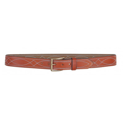 DeSantis Size 34 Fancy Stitched Belt 1 1/2-Style B27, Tan