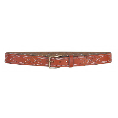 DeSantis Size 46 Fancy Stitched Belt 1 1/2-Style B27, Tan