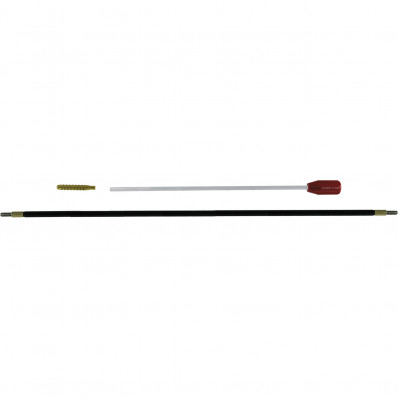 J. Dewey 2-Piece Cleaning Rod .50 cal Nylon Coated - Male Thread 12-28