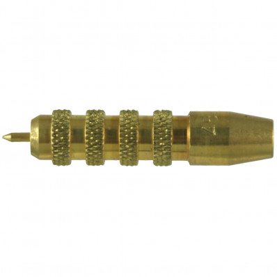 J. Dewey Brass Handgun Jag - Female Thread 12-28