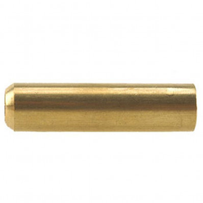 J. Dewey Large Brass Brush Adapter - .27 cal & Up