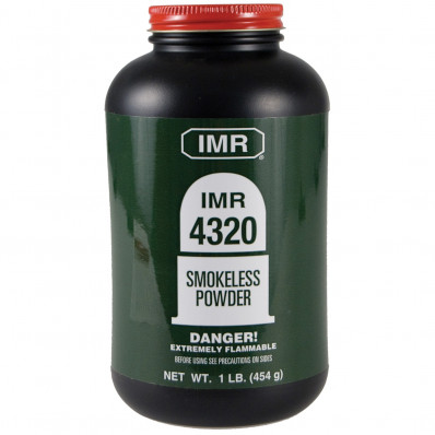 IMR Powder 4320 Rifle Powder 1 lbs