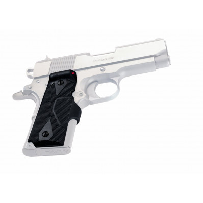 Crimson Trace Semi-Automatic Lasergrip - 1911 Officer/Defender/Compact Front Activation Green Laser