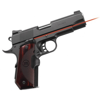 Crimson Trace Master Series Lasergrip - 1911 Bobtail - Rosewood