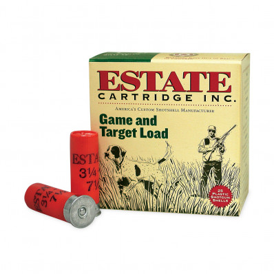 "Estate Cartridge Game & Target 12 ga 3 1/4"" 1 oz #6 - 25/box"