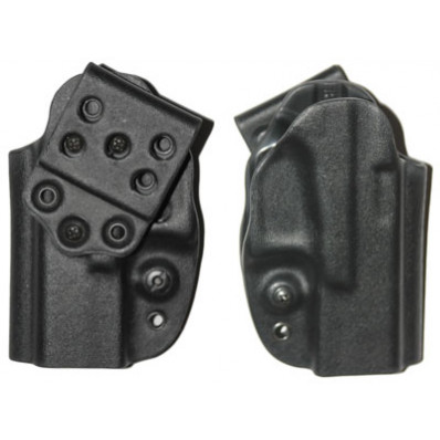 "Eagle OSH Series 1.75"" 15 Degree Cant Belt-Loop Holster 1911 Compact (3.5"") Left Hand Black"