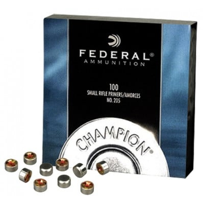 Federal Premium Champion Centerfire Primers Small Rifle