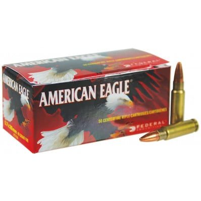 American Eagle Centerfire Handgun Ammunition 5.7x28mm 40 gr FMJ 1655 fps 50/box