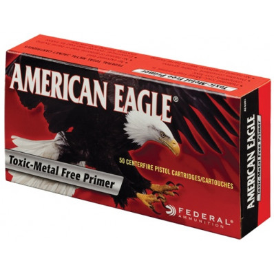 American Eagle IRT Centerfire Handgun Ammunition 9mm Luger 147 gr TMJ 1000 fps 50/box