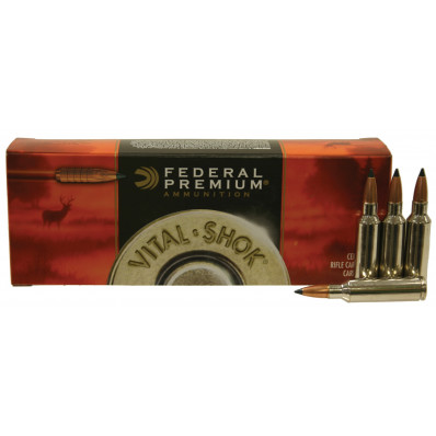 Federal Premium Vital-Shok Centerfire Rifle Ammunition .300 WSM 165 gr TC 3120 fps - 20/box