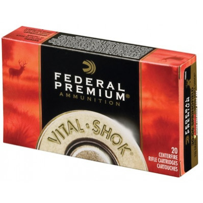Federal Premium Vital-Shok Centerfire Rifle Ammunition .308 Win 165 gr TC 2700 fps - 20/box
