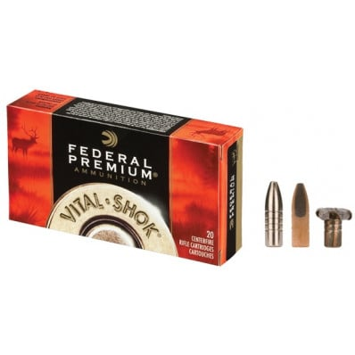 Federal Premium Vital-Shok Centerfire Rifle Ammunition .45-70 Gov 300 gr TBBC 1850 fps - 20/box