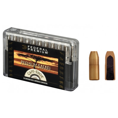 Federal Premium Cape-Shok Centerfire Rifle Ammunition .458 Lott 500 gr TBSS 2300 fps - 20/box