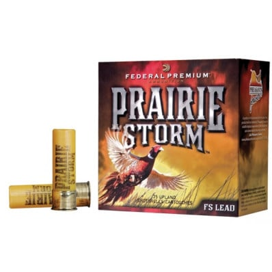 "Federal Premium Prairie Storm FS Lead with FliteControl Wad 20 ga 2 3/4""  1 oz #4,5,6 1350 fps - 25/box"