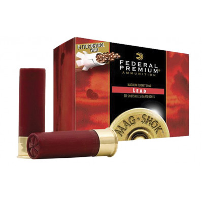 "Federal Mag-Shok Turkey Load 20 ga 3"" 3 dr 1 5/6 oz #4,5,6 1185 fps - 10/box"