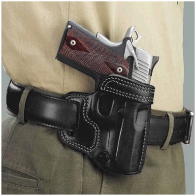 "Galco Colt 4 1/4"" 1911 Avenger Belt Holster Right Hand Black"
