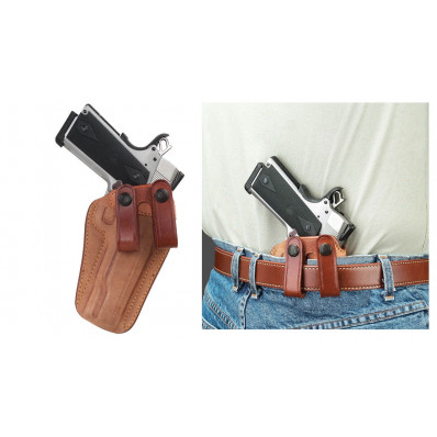 Galco Glock 19, 23, 32 Royal Guard Inside the Pant Holster Right Hand Natural Finished
