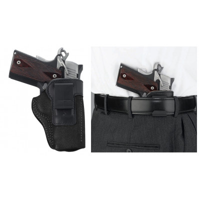Galco S&W J Frame 640 Scout Clip On Inside the Pant Holster Right Hand Black