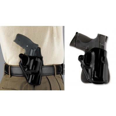 """Galco S&W J Frame 2"""" Speed Paddle Holster Right Hand Black"""