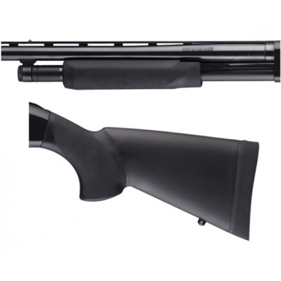 """Hogue Shotgun Stocks - Mossberg 500 Combo Forend and Stock 12"""" Length of Pull"""