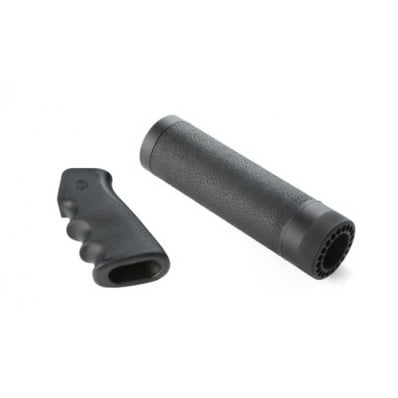 Hogue AR-15/M-16 Carbine Kit - OverMolded Grips and Free Float Forend with OverMolded Gripping Area