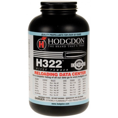 Hodgdon Extreme H322 Rifle Powder 8 lbs