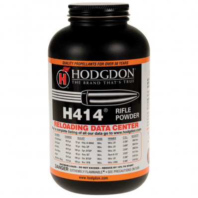 Hodgdon H414 Spherical Rifle Powder 1 lbs