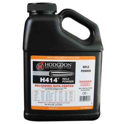 Hodgdon H414 Spherical Rifle Powder 8 lbs