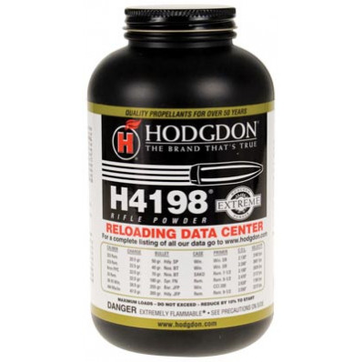 Hodgdon Extreme H4198 Rifle Powder 8 lbs