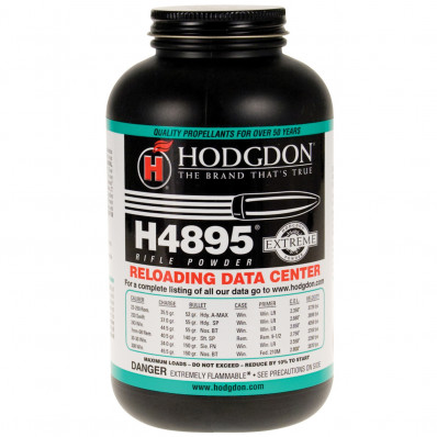 Hodgdon Extreme H4895 Rifle Powder 1 lbs