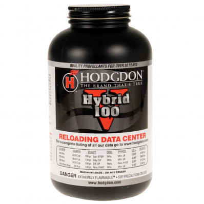 Hodgdon Hybrid 100V Spherical Rifle Powder 1 lbs