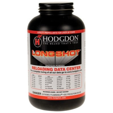 Hodgdon LONGSHOT Spherical Shotshell & Handgun Powder 4 lbs