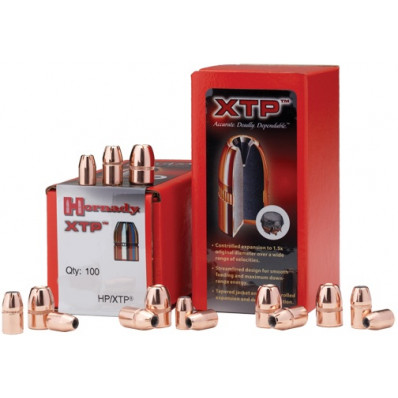 "Hornady Handgun Bullets 10mm .400"" 180 gr XTPHP 100/ct"