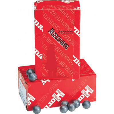"Hornady Lead Round Ball .58 cal .570"" 100/ct"