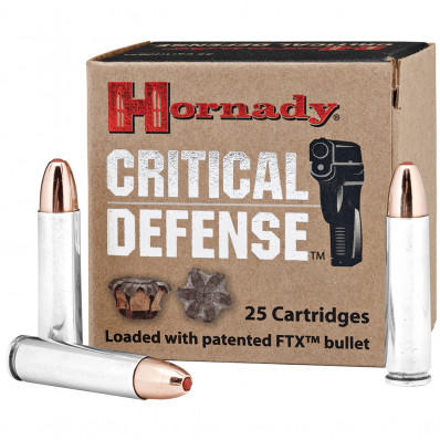 Hornady Critical Defense .30 Carbine 110 gr FTX  - 25/box