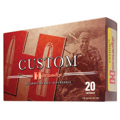 Hornady Custom Centerfire Rifle Ammunition .300 Wby Mag Mag 165 gr GMX 3140 fps - 20/box