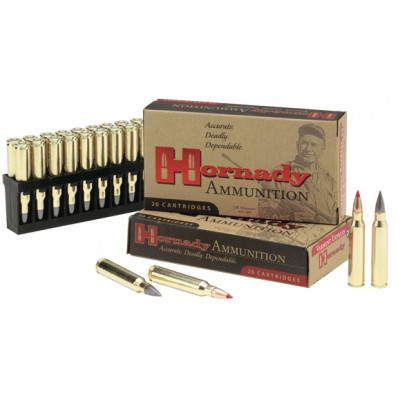 Hornady Varmint Express Rifle  Ammunition .22-250 Rem 40 gr V-MAX 4150 fps - 20/box