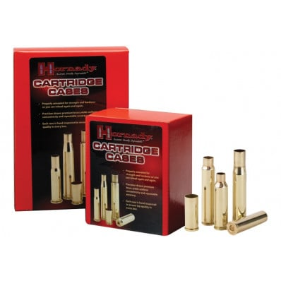 Hornady Unprimed Brass Rifle Cartridge Cases - 7mm Rem Mag 50/box