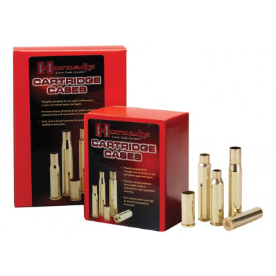 Hornady Unprimed Brass Rifle Cartridge Cases - .450 Bushmaster 50/box