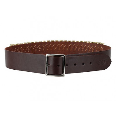 """Hunter Leather Specialty Belts, .38 Caliber, 46"""" - 51"""" X-Large, Antique Brown"""