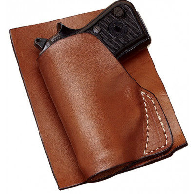Hunter Leather Ruger LCP Pocket Holster, Right Hand, Tan