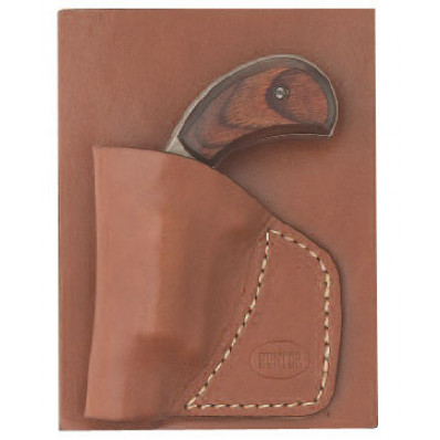 "Hunter Leather 1 5/8"" Barrel North American Arms Leather Pocket Holster"