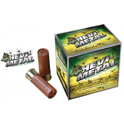 "HEVI-Shot HEVI-Metal 12 ga 3 1/2""  1 1/2 oz #BBB 1500 fps - 25/box"